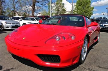 2004 Ferrari 360 Spider for sale in Woodbridge, VA