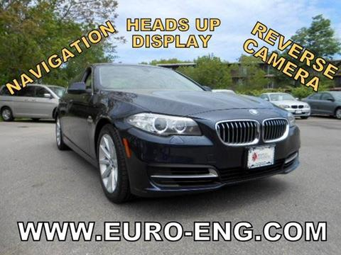 2014 BMW 5 Series for sale in Framingham, MA