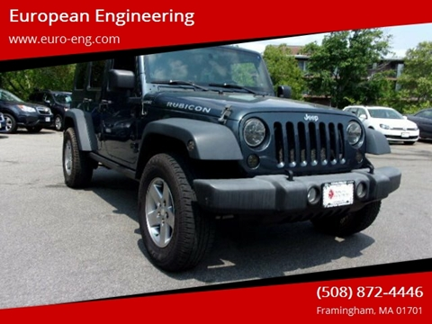2007 Jeep Wrangler Unlimited for sale in Framingham, MA