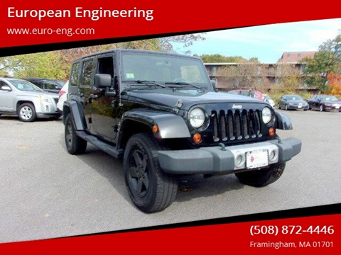 2010 Jeep Wrangler Unlimited for sale in Framingham, MA