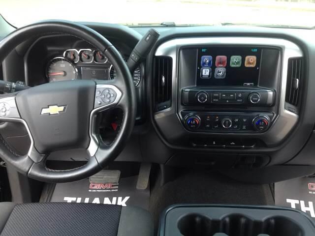 2014 Chevrolet Silverado 1500 4x4 LT 4dr Double Cab 6.5 ft. SB - Spooner WI