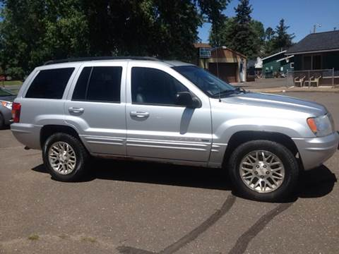2002 Jeep Grand Cherokee for sale in Spooner, WI