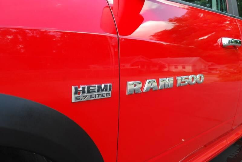 2012 RAM Ram Pickup 1500 4x4 SLT 4dr Quad Cab 6.3 ft. SB Pickup - Kalamazoo MI