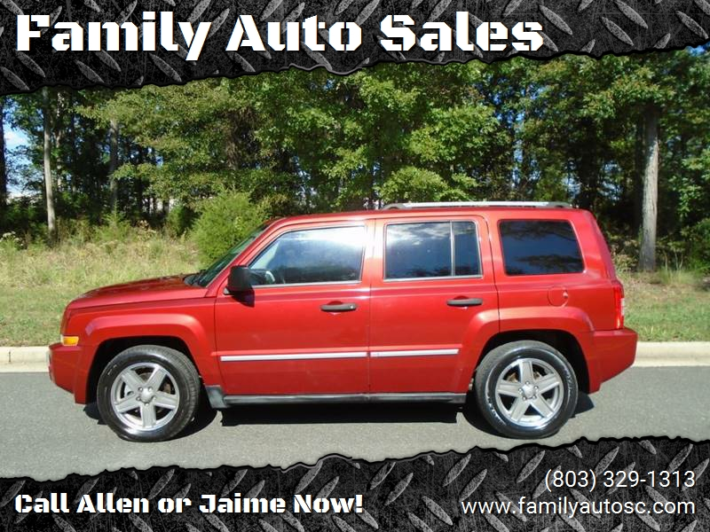 2008 Jeep Patriot For Sale At Family Auto Sales In Rock Hill SC