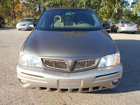 2002 Pontiac Montana for sale in Mount Morris, MI