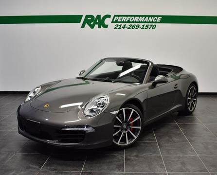 2012 Porsche 911 for sale in Carrollton, TX
