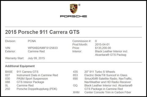 2015 Porsche 911 for sale in Carrollton, TX