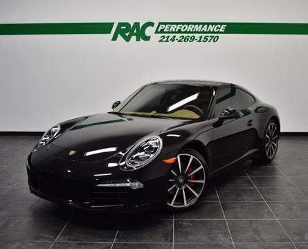 2013 Porsche 911 for sale in Carrollton, TX