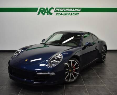 2012 Porsche 911 Carrera S for sale at RAC Performance in Carrollton TX