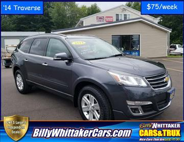 2014 Chevrolet Traverse for sale in Central Square, NY