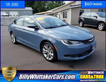 2015 Chrysler 200 for sale in Central Square, NY