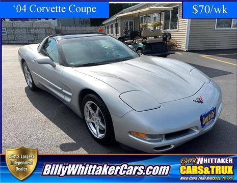 2004 Chevrolet Corvette for sale in Central Square, NY