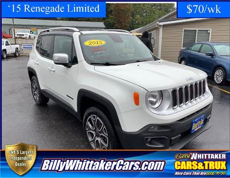2015 Jeep Renegade for sale in Central Square, NY