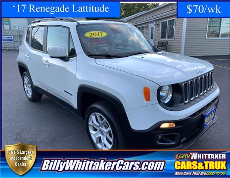 2017 Jeep Renegade for sale in Central Square, NY