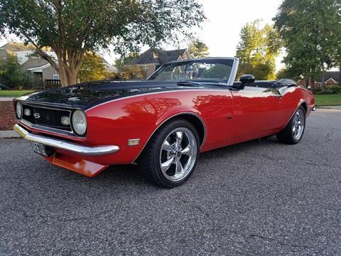 1968 Chevrolet Camaro For Sale In Virginia Carsforsale Com