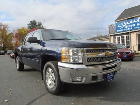 2012 Chevrolet Silverado 1500 for sale in Hooksett, NH