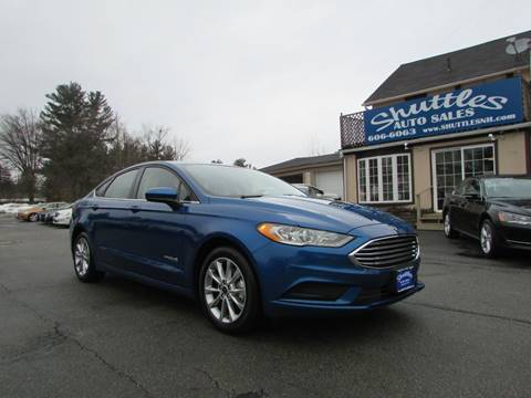 2017 Ford Fusion Hybrid for sale in Hooksett, NH