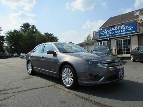 2011 Ford Fusion Hybrid for sale in Hooksett, NH