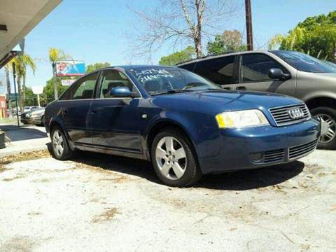 2002 Audi A6 for sale at Import Auto Brokers Inc in Jacksonville FL
