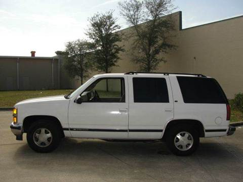 1999 Chevrolet Tahoe for sale at Import Auto Brokers Inc in Jacksonville FL