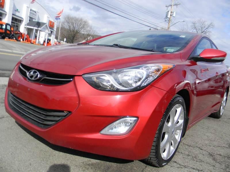 2012 Hyundai Elantra Limited 4dr Sedan   Johnson City NY