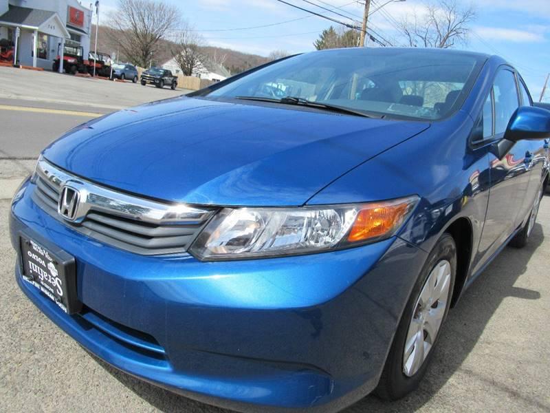 2012 Honda Civic LX 4dr Sedan 5A   Johnson City NY