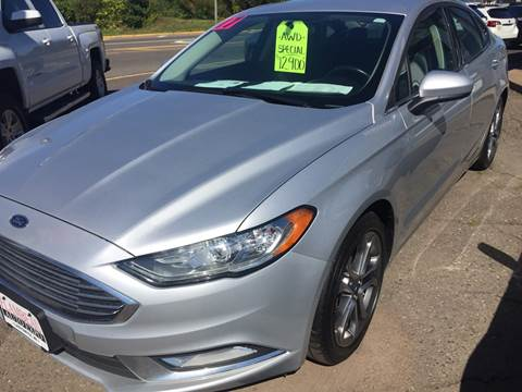 2017 Ford Fusion for sale in Ladysmith, WI