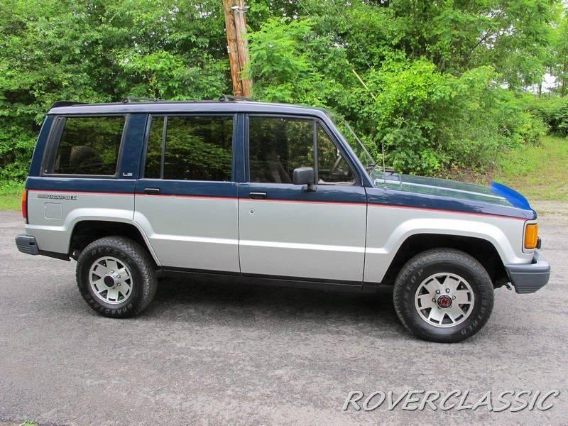 1988 Isuzu Trooper II 4dr LX Limited 4WD SUV - Cream Ridge NJ