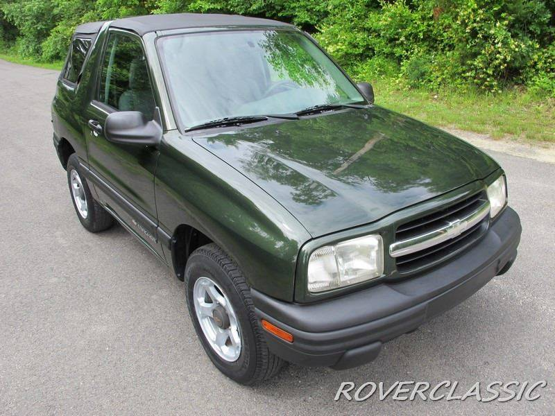 2001 Chevrolet Tracker 4WD 2dr SUV w/ Soft Top - Cream Ridge NJ