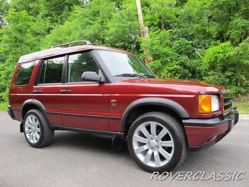 2001 Land Rover Discovery Series II SE 4WD 4dr SUV - Cream Ridge NJ