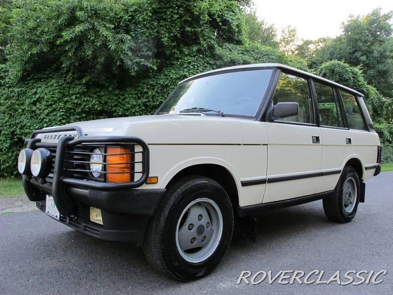 1990 Land Rover Range Rover AWD County 4dr SUV - Cream Ridge NJ