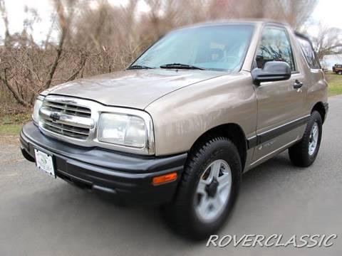 2002 Chevrolet Tracker for sale at Isuzu Classic in Cream Ridge NJ