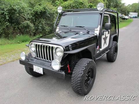1999 Jeep Wrangler for sale at Isuzu Classic in Cream Ridge NJ