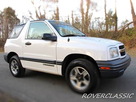 2002 Chevrolet Tracker for sale in Cream Ridge, NJ