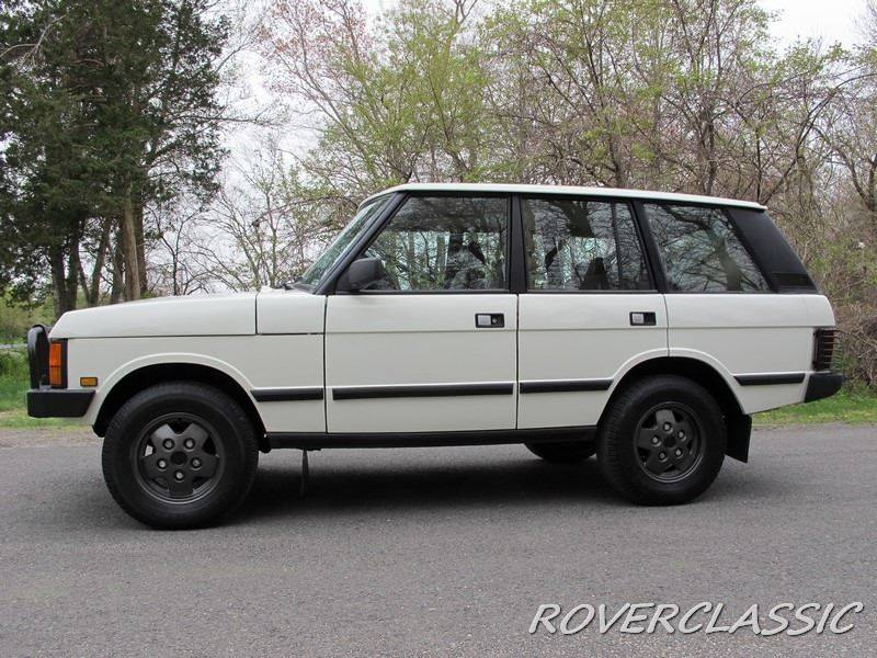 1991 Land Rover Range Rover AWD Great Divide 4dr SUV - Cream Ridge NJ