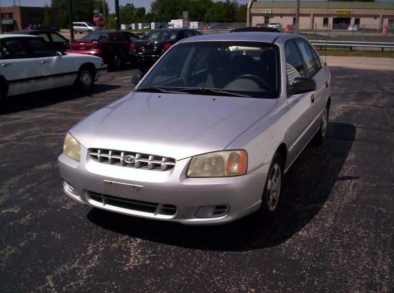 2001 Hyundai Accent GL 4dr Sedan - Loves Park IL