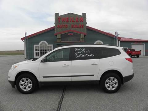 2012 Chevrolet Traverse for sale at THEILEN AUTO SALES in Clear Lake IA
