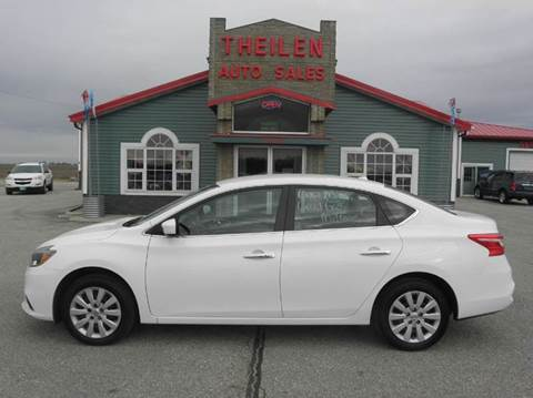 2016 Nissan Sentra for sale at THEILEN AUTO SALES in Clear Lake IA