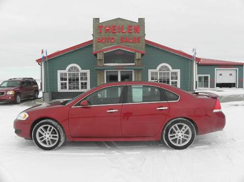 2013 Chevrolet Impala for sale at THEILEN AUTO SALES in Clear Lake IA