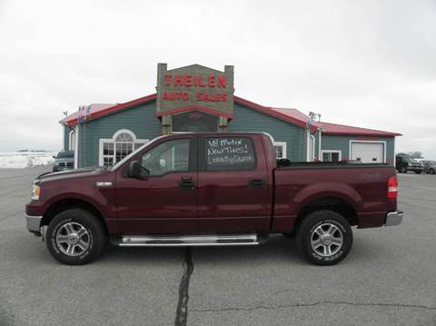 2005 Ford F-150 for sale at THEILEN AUTO SALES in Clear Lake IA