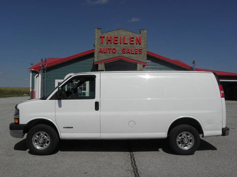 2006 chevrolet express cargo 2500 3dr van in clear lake ia theilen rh theilenautosales com 2006 Chevy Express Van 3500 2006 Chevy Express Van Problems