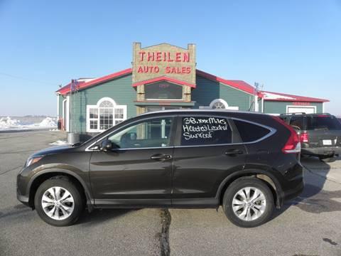 2013 Honda CR-V for sale in Clear Lake, IA