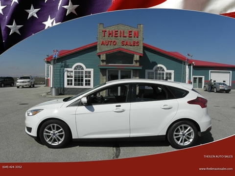 2015 Ford Focus for sale at THEILEN AUTO SALES in Clear Lake IA