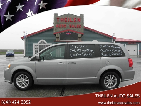 2018 Dodge Grand Caravan for sale at THEILEN AUTO SALES in Clear Lake IA