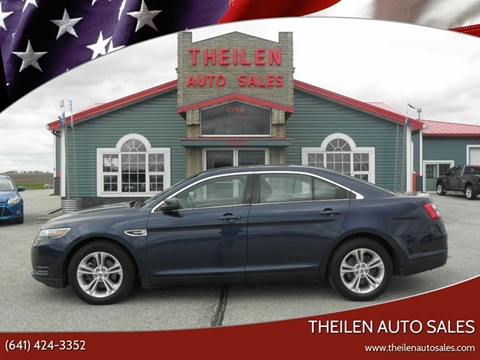 2017 Ford Taurus for sale at THEILEN AUTO SALES in Clear Lake IA