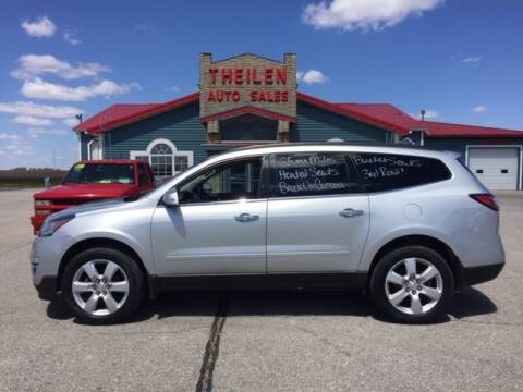 2017 Chevrolet Traverse for sale at THEILEN AUTO SALES in Clear Lake IA
