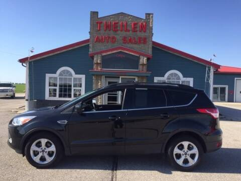 2014 Ford Escape for sale at THEILEN AUTO SALES in Clear Lake IA