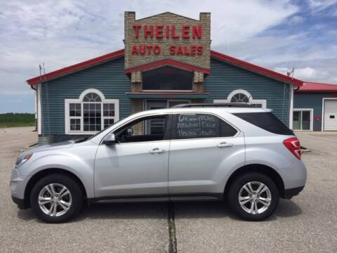 2016 Chevrolet Equinox for sale at THEILEN AUTO SALES in Clear Lake IA