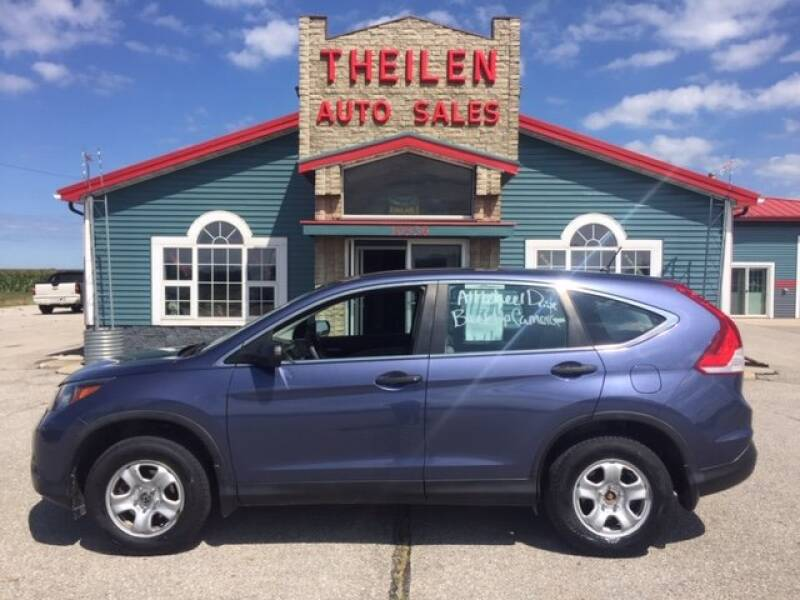 2014 Honda CR-V for sale at THEILEN AUTO SALES in Clear Lake IA