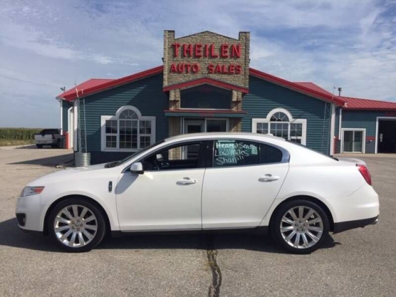 2011 Lincoln MKS for sale at THEILEN AUTO SALES in Clear Lake IA